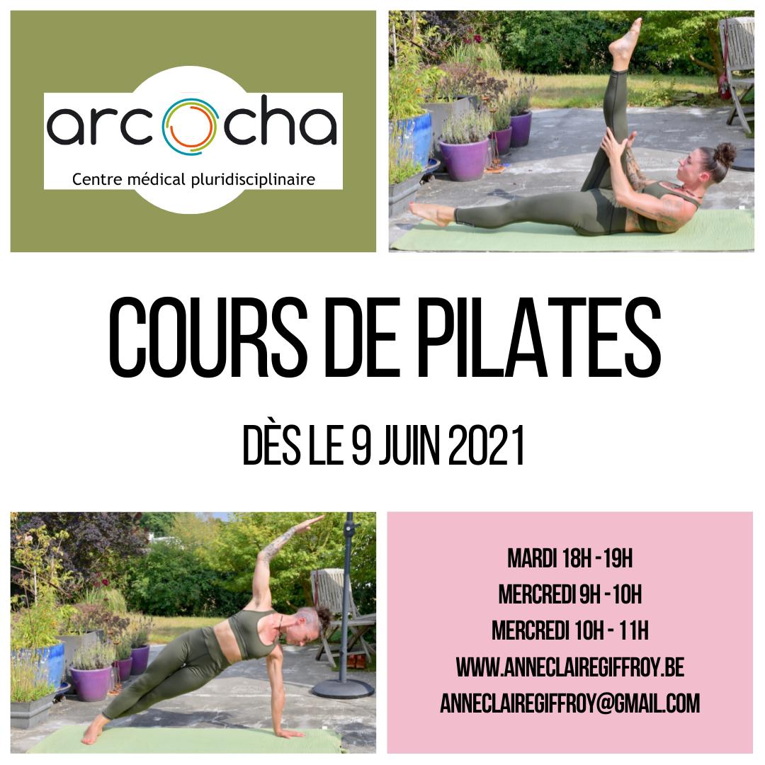 Pilates à Liège : Reprise des cours en Juin 2021.